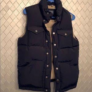 Womens vest J Crew thermal vest XS navy blue